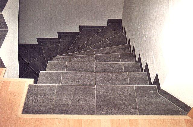 treppe 4 ideen aus fliesen und naturstein harald hess ihr fliesenlegermeister. Black Bedroom Furniture Sets. Home Design Ideas